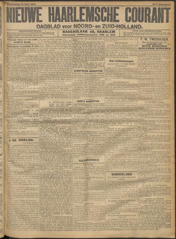 Nieuwe Haarlemsche Courant 1916-07-12