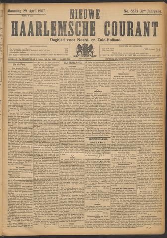 Nieuwe Haarlemsche Courant 1907-04-29