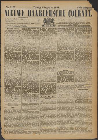 Nieuwe Haarlemsche Courant 1894-08-05