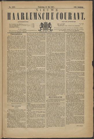 Nieuwe Haarlemsche Courant 1891-05-21