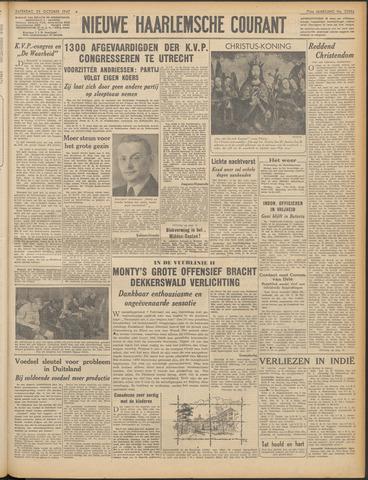 Nieuwe Haarlemsche Courant 1947-10-25