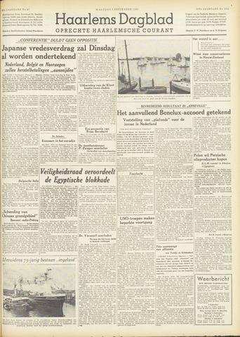 Haarlem's Dagblad 1951-09-03