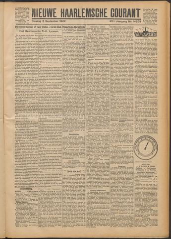 Nieuwe Haarlemsche Courant 1922-09-05