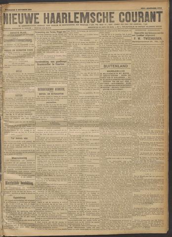 Nieuwe Haarlemsche Courant 1918-10-02