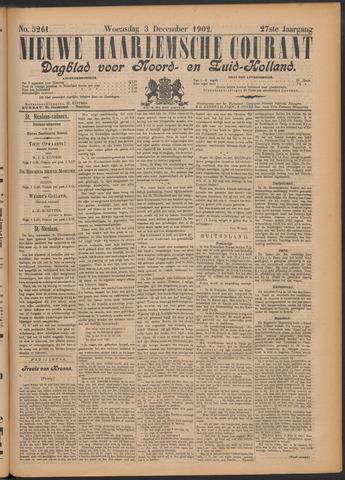 Nieuwe Haarlemsche Courant 1902-12-03