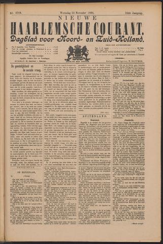 Nieuwe Haarlemsche Courant 1899-11-22