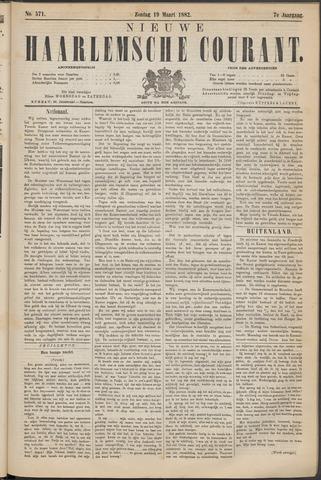Nieuwe Haarlemsche Courant 1882-03-19