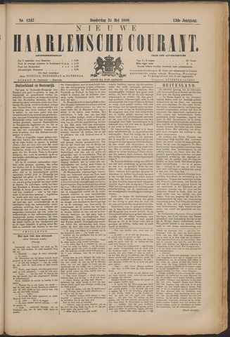 Nieuwe Haarlemsche Courant 1888-05-31