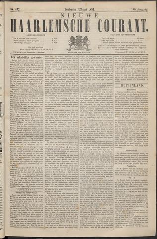 Nieuwe Haarlemsche Courant 1881-03-03