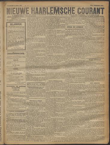 Nieuwe Haarlemsche Courant 1919-04-14