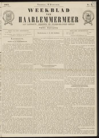 Weekblad van Haarlemmermeer 1864-01-08