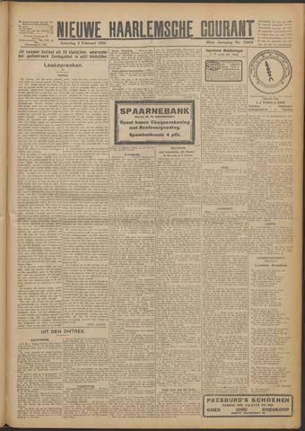 Nieuwe Haarlemsche Courant 1924-02-09