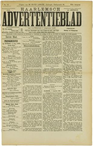 Haarlemsch Advertentieblad 1889-08-03