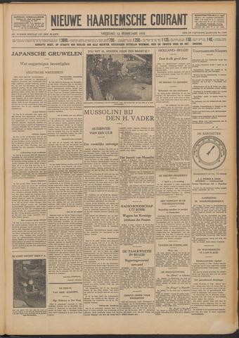 Nieuwe Haarlemsche Courant 1932-02-12
