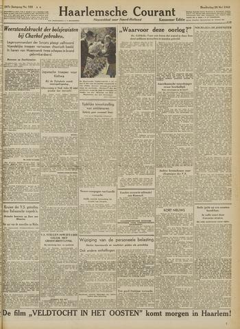 Haarlemsche Courant 1942-05-28
