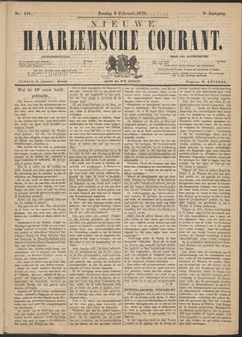 Nieuwe Haarlemsche Courant 1878-02-03