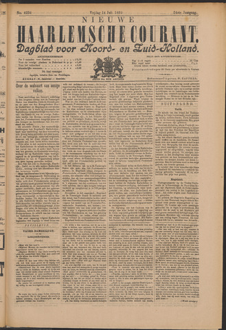 Nieuwe Haarlemsche Courant 1899-07-14