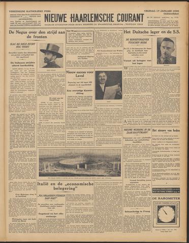 Nieuwe Haarlemsche Courant 1936-01-17