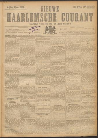 Nieuwe Haarlemsche Courant 1907-01-04
