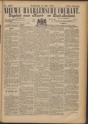 Nieuwe Haarlemsche Courant 1905-05-25