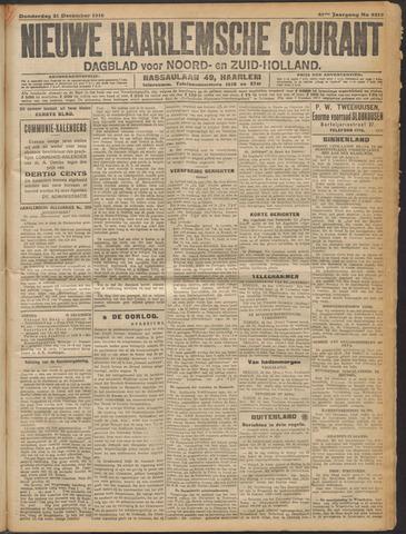 Nieuwe Haarlemsche Courant 1916-12-21