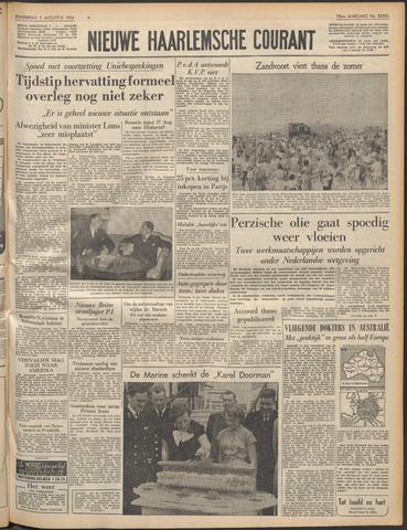 Nieuwe Haarlemsche Courant 1954-08-05