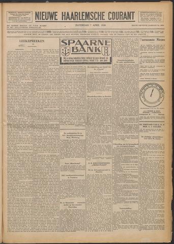 Nieuwe Haarlemsche Courant 1928-04-07