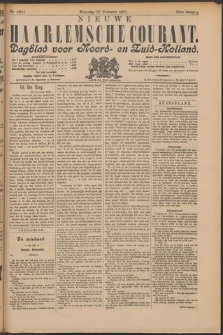 Nieuwe Haarlemsche Courant 1901-11-27