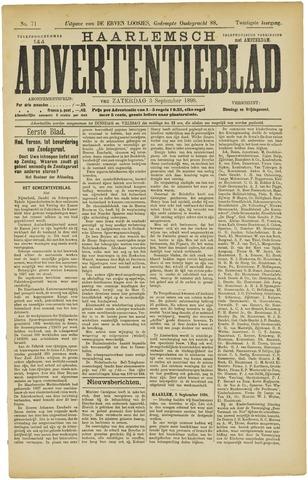 Haarlemsch Advertentieblad 1898-09-03