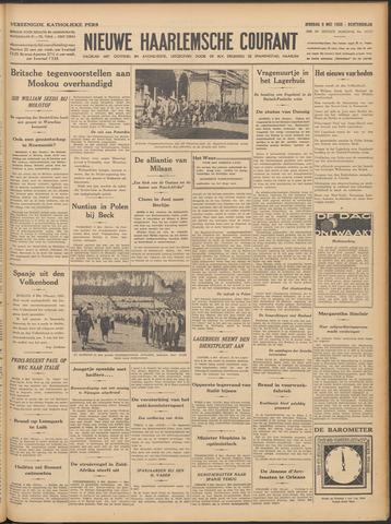 Nieuwe Haarlemsche Courant 1939-05-09