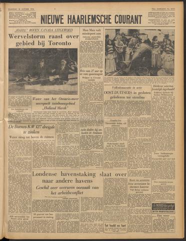 Nieuwe Haarlemsche Courant 1954-10-18