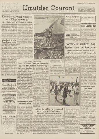 IJmuider Courant 1959-04-27