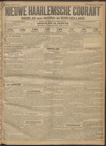 Nieuwe Haarlemsche Courant 1916-04-07
