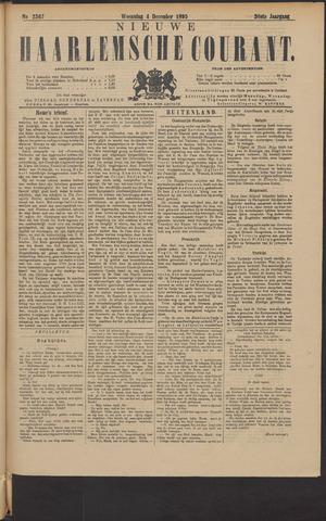Nieuwe Haarlemsche Courant 1895-12-04
