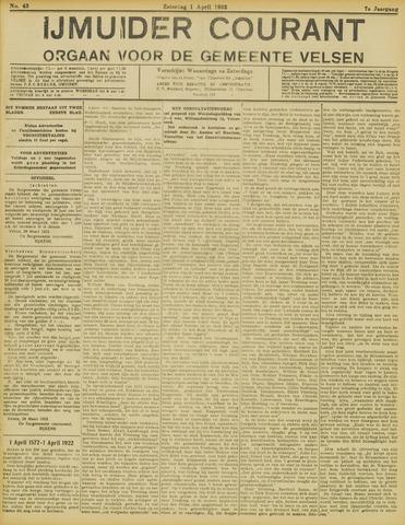 IJmuider Courant 1922-04-01