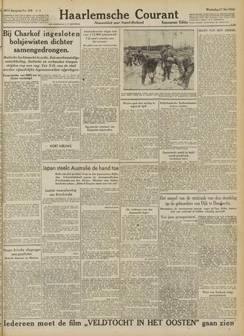 Haarlemsche Courant 1942-05-27