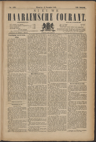 Nieuwe Haarlemsche Courant 1889-11-13