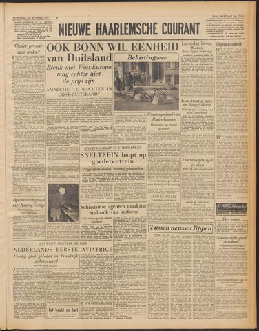 Nieuwe Haarlemsche Courant 1951-09-26