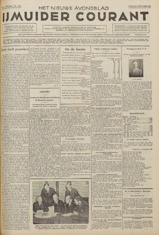 IJmuider Courant 1938-09-13