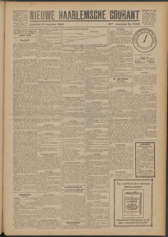 Nieuwe Haarlemsche Courant 1922-08-12