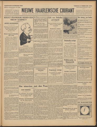 Nieuwe Haarlemsche Courant 1934-02-09