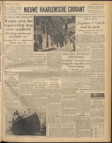Nieuwe Haarlemsche Courant 1958-07-28