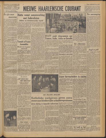 Nieuwe Haarlemsche Courant 1948-11-18