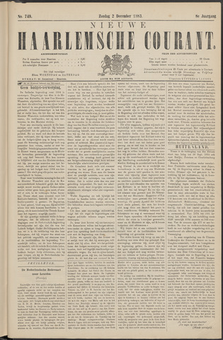 Nieuwe Haarlemsche Courant 1883-12-02