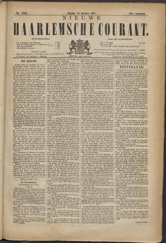 Nieuwe Haarlemsche Courant 1891-10-18