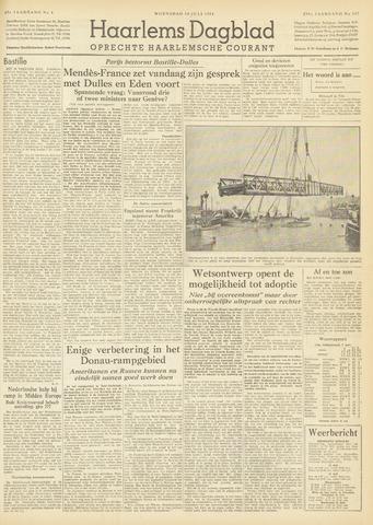 Haarlem's Dagblad 1954-07-14