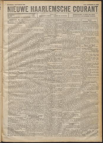 Nieuwe Haarlemsche Courant 1920-09-01