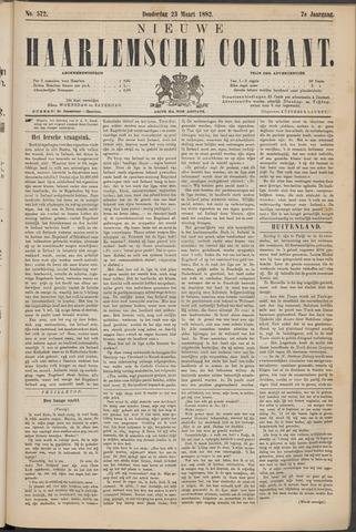 Nieuwe Haarlemsche Courant 1882-03-23