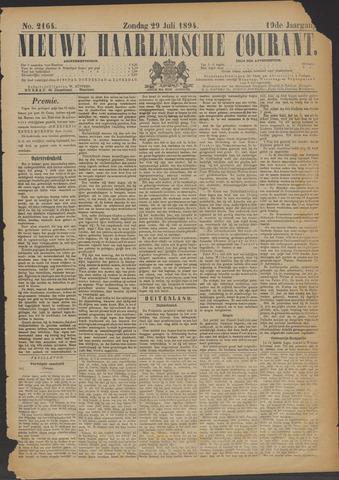 Nieuwe Haarlemsche Courant 1894-07-29