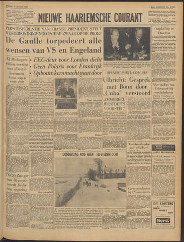 Nieuwe Haarlemsche Courant 1963-01-15